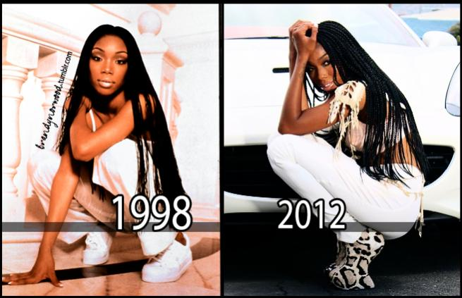 Outstanding Singer Brandy Is Rocking Out Her Braids Again In This Photo Hairstyle Inspiration Daily Dogsangcom